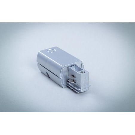 Przyłącze zasilające do szyn 3-fazowych białe - LED
