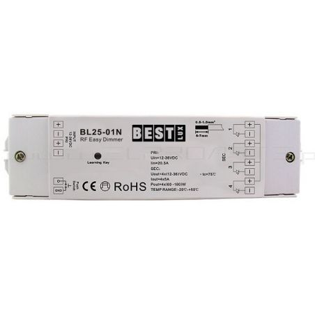 Odbiornik strefowy LED BL25-01 N (12-36V DC)