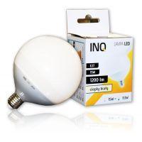 LED GLOB / E27 / 15W / odp.113W / BIAŁY CIEPŁY / ŻARÓWKA LED INQ