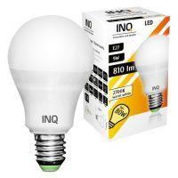 LED / E27 / 9W /odp.80W / BIAŁY CIEPŁY / DOOKÓLNA / ŻARÓWKA LED INQ