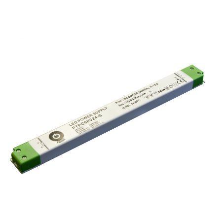 Zasilacz meblowy S FTPC60V12-S, 60W, IP20, 12VDC/5A