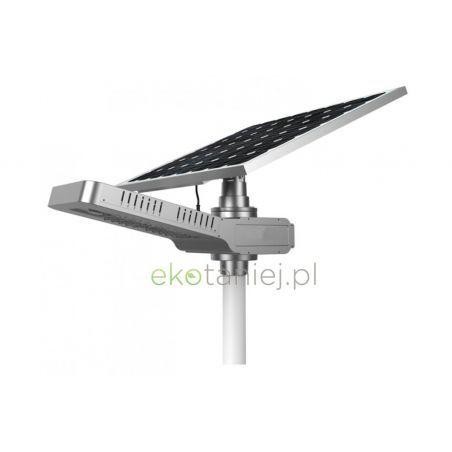 Zestaw solarny 20W - lampa LED, panel i bateria