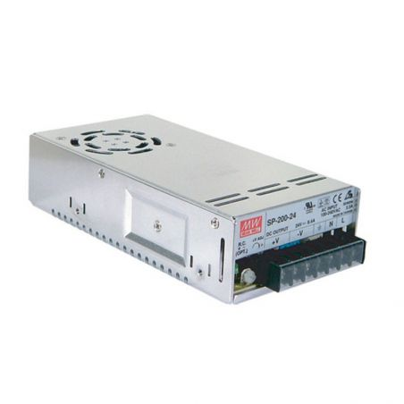 Zasilacz modułowy Mean Well SP-200-12, 200W, IP20, 12VDC