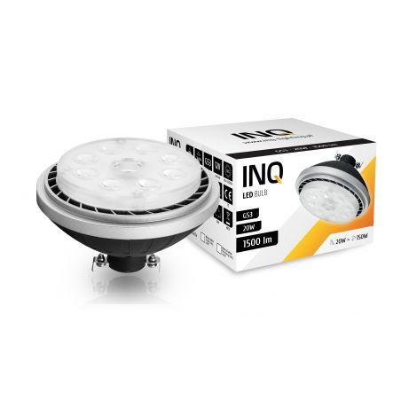 LED / G53 / AR111 / 20W / BIAŁA NEUTRALNA 1500Lm / ŻARÓWKA LED INQ