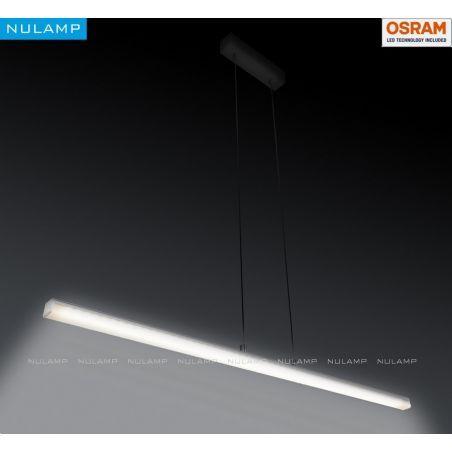 Lampa NULAMP GIP QUADRO W + BOX 100cm, 22W, 2400lm, 5000K, Ra85
