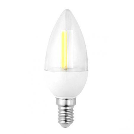 LED / E14 / 2,5W / odp.18W / ŚWIECZKA / BIAŁA CIEPŁA / ŻARÓWKA LED INQ