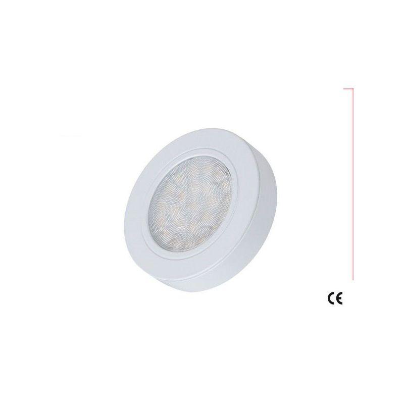 Oprawa PolLED OVAL 2W BC z dystansem biała lakierowana
