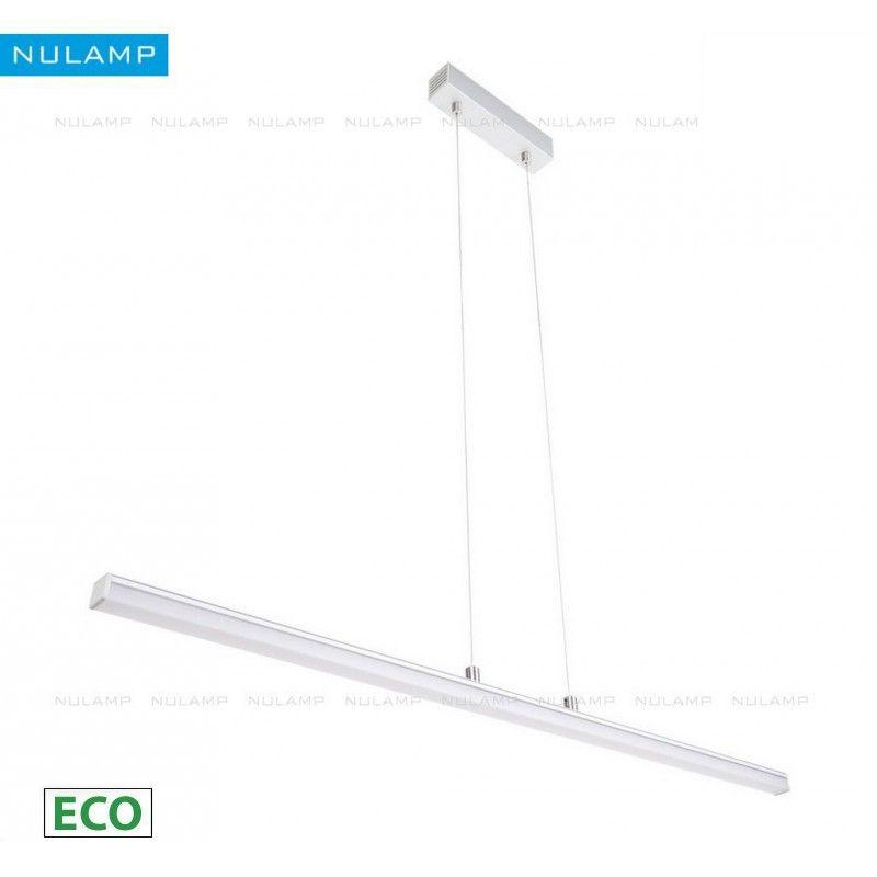Lampa NULAMP GIP QUADRO W + BOX ECO 100cm,18W, 2100lm, biały ciepły