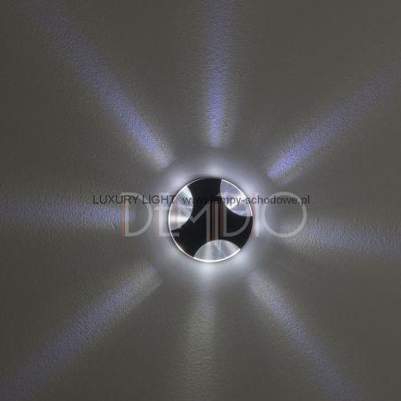 Nowoczesne oświetlenie schodowe WERONA LED