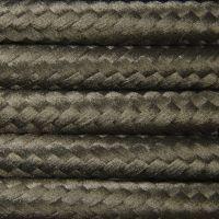 Kabel w oplocie poliestrowym 2 x 0,75 - khaki
