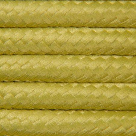 Kabel w oplocie poliestrowym 2 x 0,75 - oliwkowy