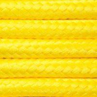 Kabel w oplocie poliestrowym 2 x 0,75 - żółty