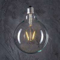 Żarówka dekoracyjna Globe 125 LED 2W