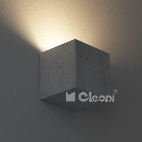 Kinkiet Betonowy KORYTKO pełne 16 wariantów Cleoni 230V - NEGOCJUJ CENĘ!