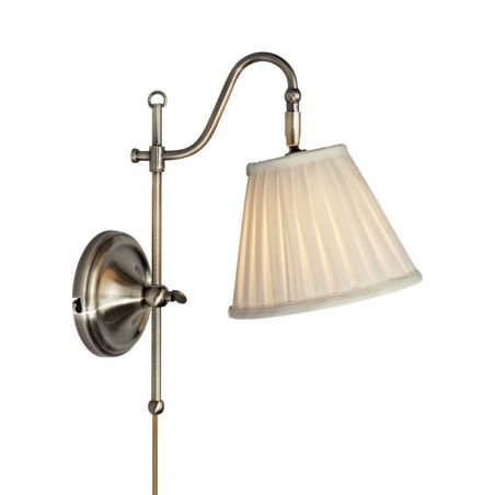 Kinkiet Nowoczesny 1pł CHARLESTON 104175 LampGustaf Lamp Gustaf 1x40W/E14 230V 34x20 cm - NEGOCJUJ CENĘ!
