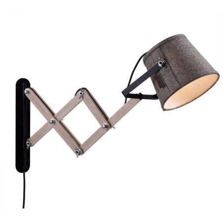 Kinkiet Nowoczesny 1pł LEGEND 105083 LampGustaf Lamp Gustaf 1x60W/E27 230V 40x70 cm - NEGOCJUJ CENĘ!
