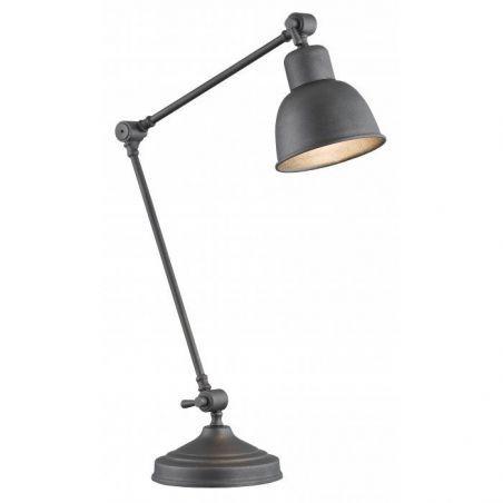 Lampka biurkowa Grafitowa 1pł EUFRAT 3195 Argon 1x60W/E27 230V 45x20 cm - NEGOCJUJ CENĘ!