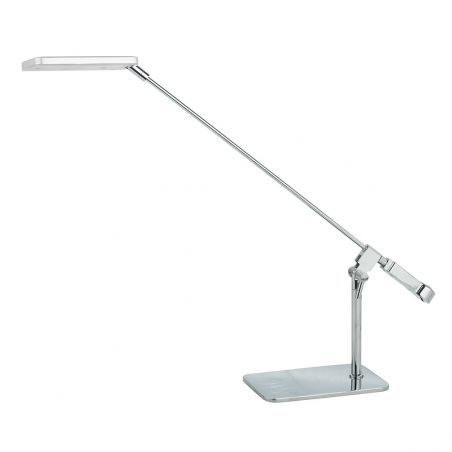 Lampka Biurkowa LED 1pł URBANO T0423A ANODIZING Italux 1x6,3W/LED 230V 38x10x42 cm