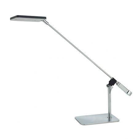 Lampka Biurkowa LED 1pł URBANO T0423A BLACK Italux 1x6,3W/LED 230V 38x10x42 cm