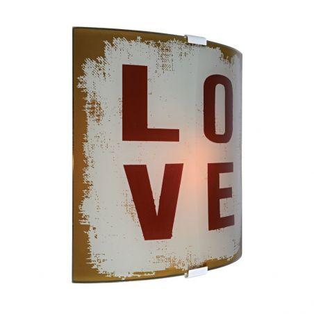 Plafon ścienny 1pł 104891 LOVE Markslojd 1x40W/E14 230V 26,5x25,5 cm - NEGOCJUJ CENĘ!
