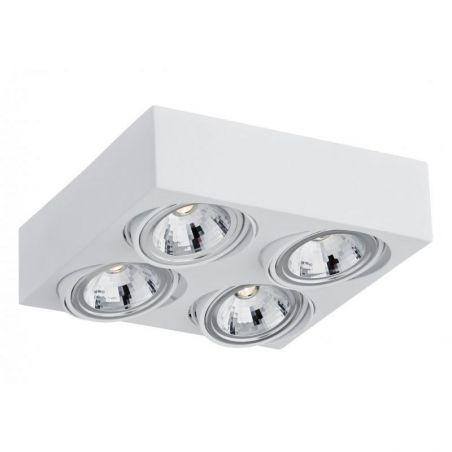 Plafon sufitowy LED 4pł RODOS 1572 Argon 4x7W/LED 230V 9x28 cm - NEGOCJUJ CENĘ!