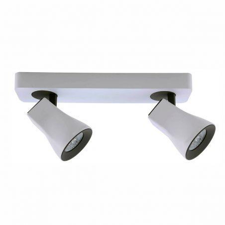 Reflektorek ścienno-sufitowy LED 2pł VALENTINA FH31762A11 Italux 2x4W/GU10 230V 12x6,5x30 cm