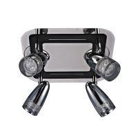 Reflektor halogenowy 4pł ALBANE HP-503AC-04MA-1341 CH Italux 4x4,3W/LED 230V 14,5x25x25 cm