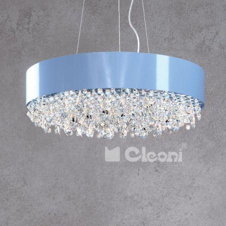 Zwis sufitowy WEKTOR Cleoni 4x40W/G9 , 1x25W/LED , 5x40W/G9 , 1x75W/LED 230V 60x40 / 50 / 60 cm - NEGOCJUJ CENĘ!