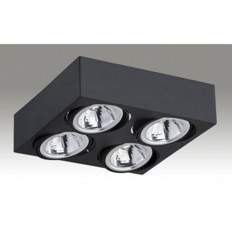 Plafon sufitowy LED 4pł RODOS 1573 Argon 4x7W/LED 230V 9x28 cm - NEGOCJUJ CENĘ!