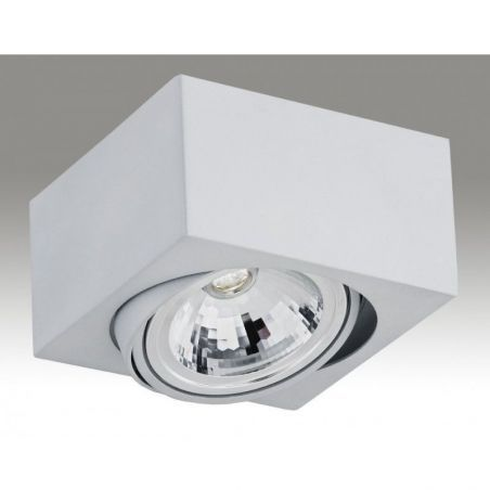 Plafon sufitowy LED 1pł RODOS 3069 Argon 1xLED/7W 230V 8,5x15 cm - NEGOCJUJ CENĘ!