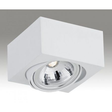 Plafon sufitowy LED 1pł RODOS 3070 Argon 1xLED/7W 230V 8,5x15 cm - NEGOCJUJ CENĘ!