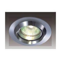 Oczko halogenowe 1pł DOWNLIGHTS MQ71818-1A Italux 1x50W/GU5,3/MR16 230V 2,3x9 cm