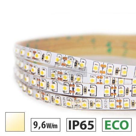 Taśma LED ECO 9,6W/m, 120xLED SMD 3528/m, IP65, biały ciepły, 5m