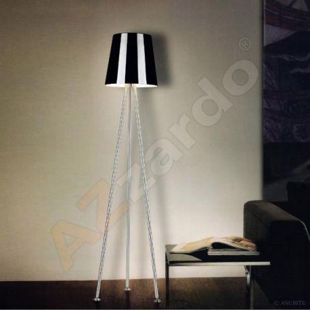 Lampa podłogowa 1pł TRIANGLE DF 6130 AZzardo 1x60W/E27 230V 155x53 cm - NEGOCJUJ CENĘ!