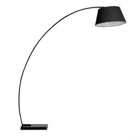 Lampa podłogowa 1pł OLAV FL-10059 BK AZzardo 1x40W/E27 230V 185x165 cm - NEGOCJUJ CENĘ!
