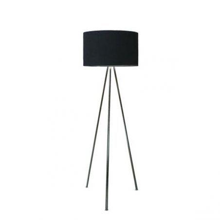 Lampa podłogowa 1pł FINN FL-12025 BK AZzardo 1x40W/E27 230V 150x45 cm - NEGOCJUJ CENĘ!