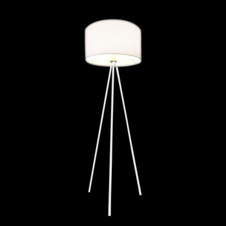 Lampa podłogowa 1pł FINN FL-12025 WH AZzardo 1x40W/E27 230V 150x45 cm - NEGOCJUJ CENĘ!