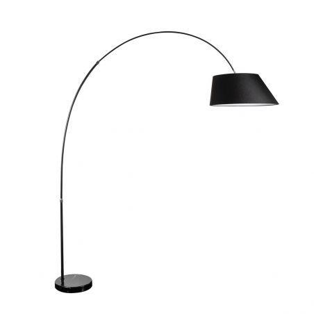 Lampa podłogowa 1pł BARD FL-12041 BK AZzardo 1x60W/E27 230V 225x200 cm - NEGOCJUJ CENĘ!