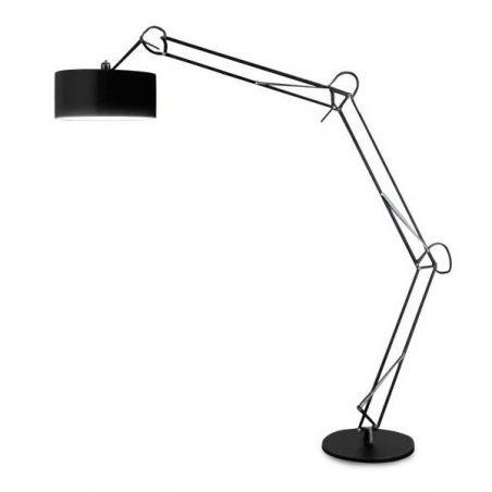 Lampa podłogowa 1pł BOSSE FL-13072 BK AZzardo 1x40W/E27 230V 220x50 cm - NEGOCJUJ CENĘ!