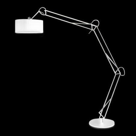 Lampa podłogowa 1pł BOSSE FL-13072 WH AZzardo 1x40W/E27 230V 220x50 cm - NEGOCJUJ CENĘ!