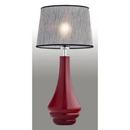 Lampka stołowa 1pł AMAZONKA 3028 Argon 1x60W/E27 230V 54x30 cm - NEGOCJUJ CENĘ!