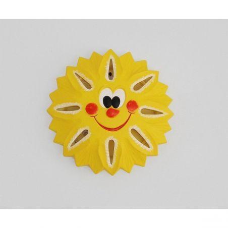 Lampa dziecięca Kinkiet SŁOŃCE 1pł GK 600C 5388 Cleoni 1x60W/E27 230V 30x30 cm - NEGOCJUJ CENĘ!