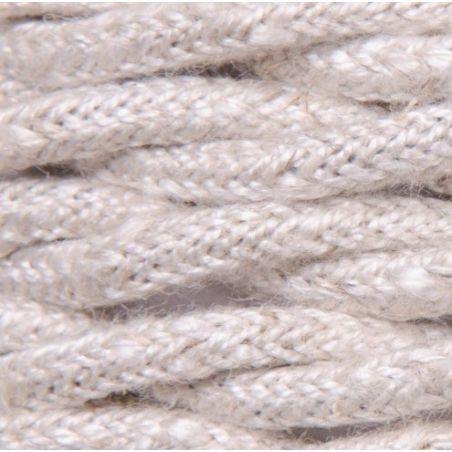 Kabel w oplocie lnianym 2x0,75 - skręcony neutral