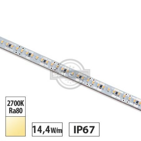 Wodoszczelna Listwa LED OSRAM 14,4 W/m, 1400lm/m, 2700K, 24VDC, IP67, 1m, gwarancja 3 lata