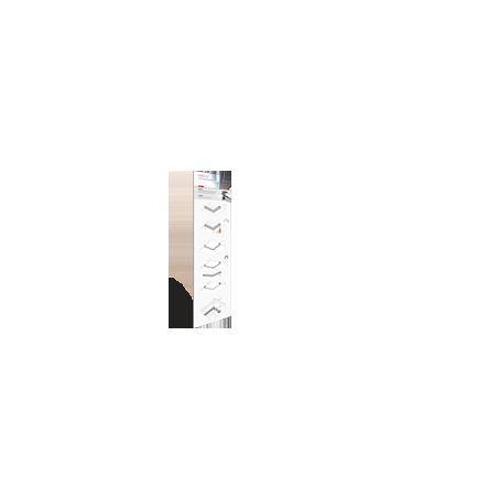 Plansza nr 5 (30 x 100cm) do oświetlenia LED