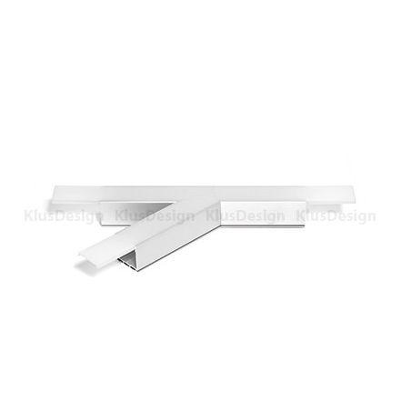Kształtka T135L profil LIPOD-LIGER22, do oświetlenia LED
