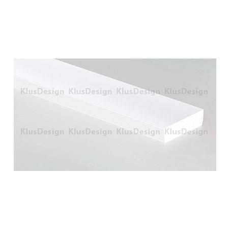 HR-ALU osłonka mleczna, certyfikowana, do oświetlenia LED