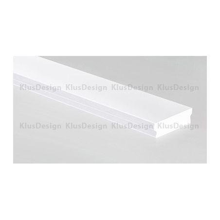 HR-LINE osłonka mleczna, certyfikowana, do oświetlenia LED