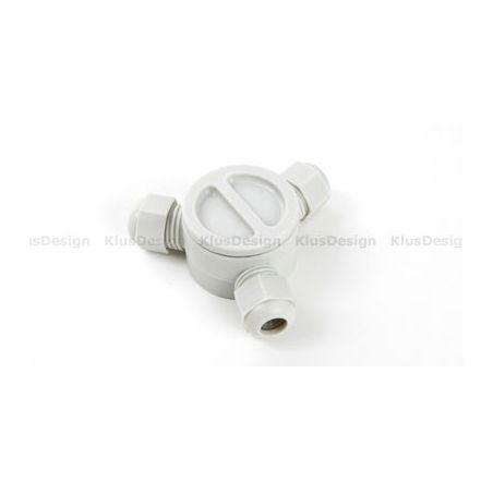 Puszka hermetyczna, do oświetlenia LED
