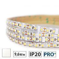 Taśma LED PRO 9,6W/m, 120xLED SMD 3528/m, IP20, biały neutralny, 5m